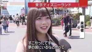 一般人としてインタビューされニュース番組に出演するAV女優w